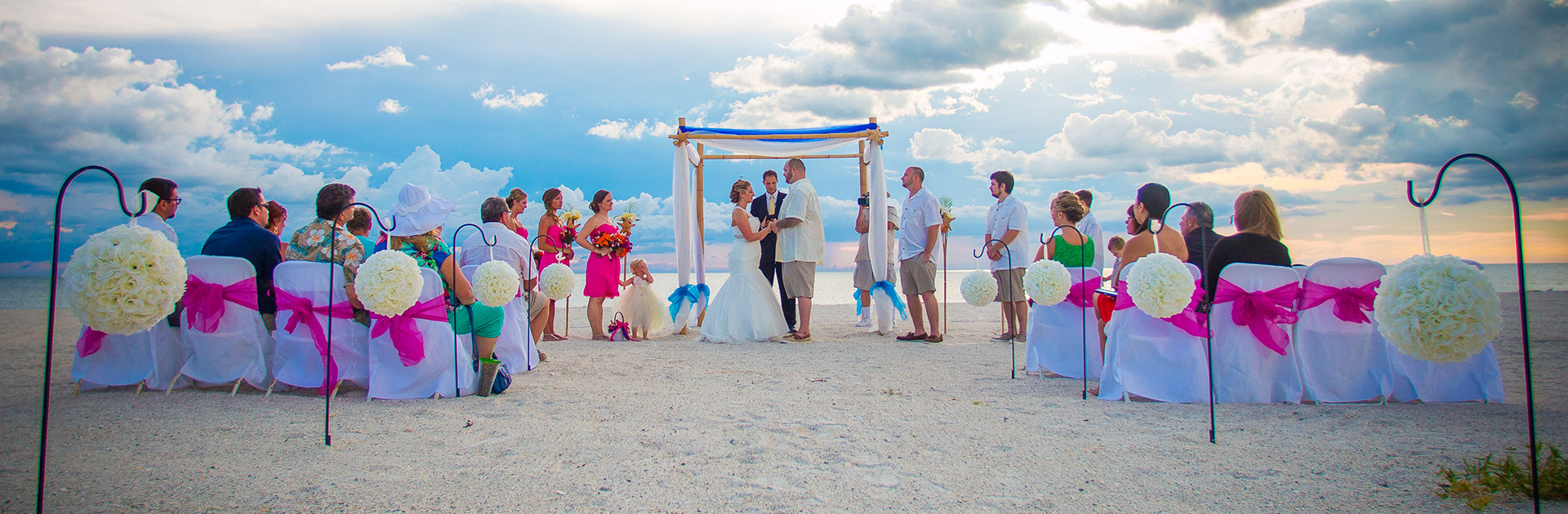 florida beach wedding packages: 727-475-2272