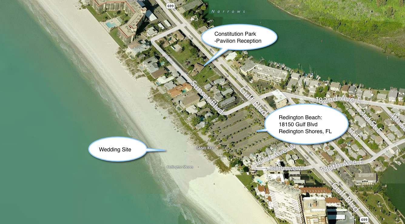 Redington Beach _ Shores - Constitution Park Aerial