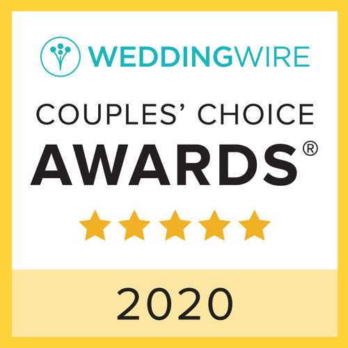 2019 WeddingWire Couples' Choice Award